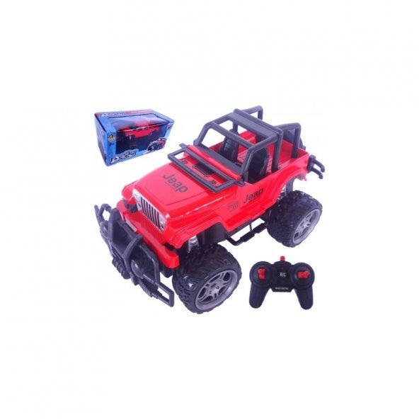 Erdem Rc Uzaktan Kumandalı Araba Jeep 1:18 Şarjlı 4X4 Arazi Aracı Dağcı Jeep