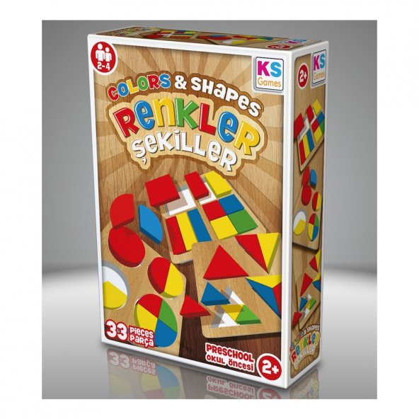 KS Games Renkler Şekiller