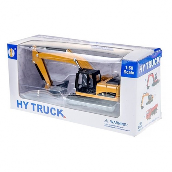 Hy Truck 1:60 Metal İş Makinası 6012-2
