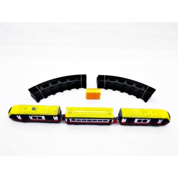 Canem Oyuncak Pilli Müzikli Hızlı Tren