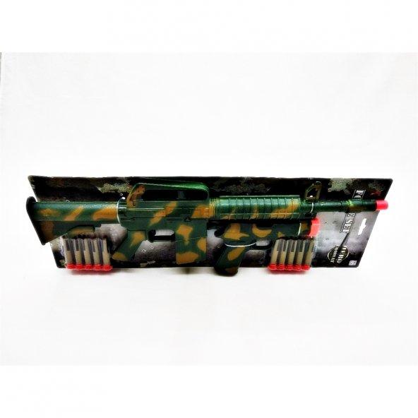 Sunman Asker Tüfek/Tabanca 10 Mermili Silah Set