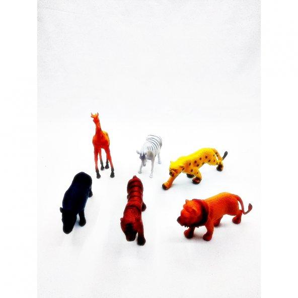 Sunman 6lı Vahşi Hayvanlar