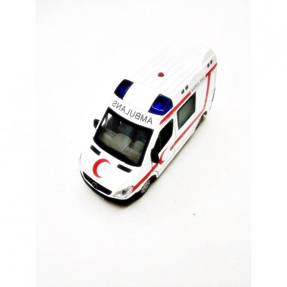 Vardem Oyuncak Işıklı Sesli Ambulans