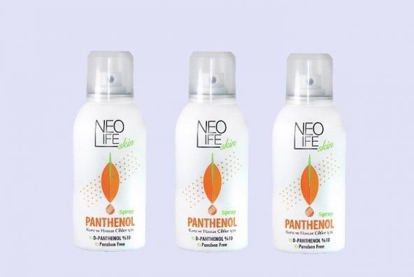 3 Kutu NeoLife Skin Panthenol Sprey Köpük