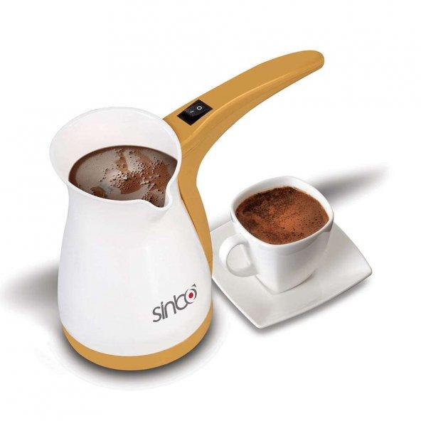 Elektrikli Türk Kahve Makinesi Cezve Hediyeli