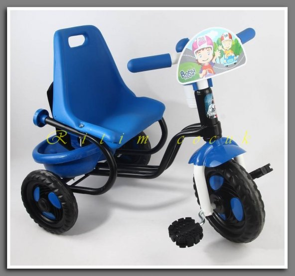 Babyhope 101 Prens Bısıklet uc teker  mavı