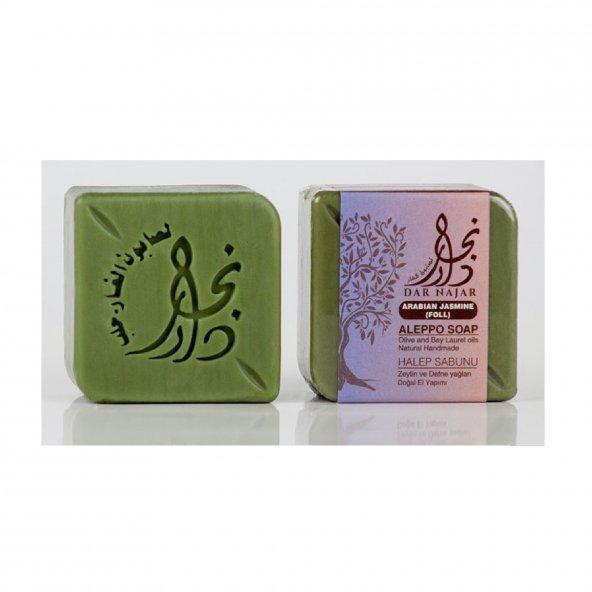 Zeytinyağlı Doğal Sabun ( Arap Yasemini parfümlü ) ( 3 adet )