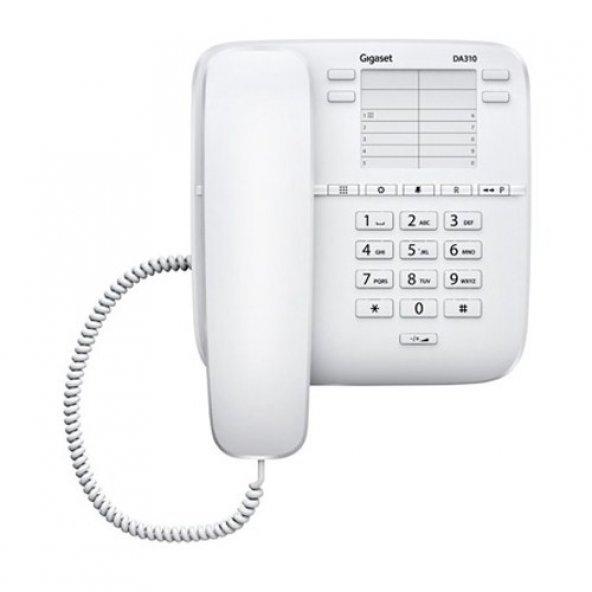 Gigaset Da310 Masaüstü Telefon Beyaz ENT