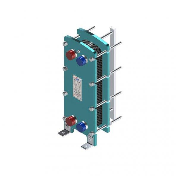 MIT 509 Model Plakalı Eşanjör 200000 Kcal/H (25 Plakalı)