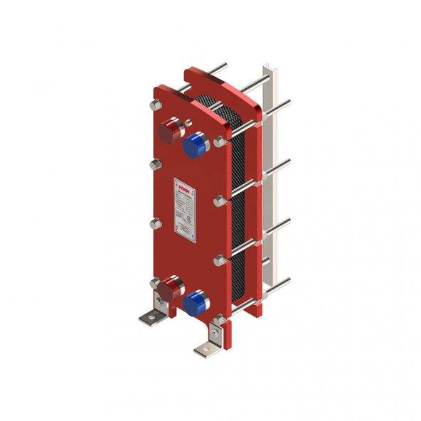 HEX 509 Model Plakalı Eşanjör 100000 Kcal/H (15 Plakalı)