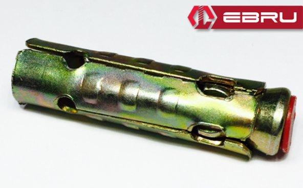 Ebru Çekmeli S Tipi Çelik Dübel 6 (100 Adet)
