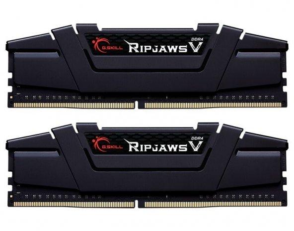 GSKILL RipjawsV 16GB (2X8) DDR4-3600Mhz CL18 Siyah 1.35V(F4-3600C18D-16GVK)