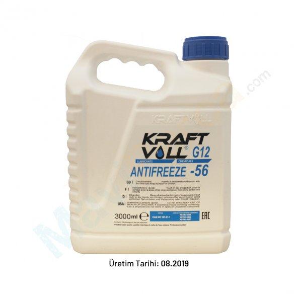 Kraftvoll Antifiriz -56C 3 LT