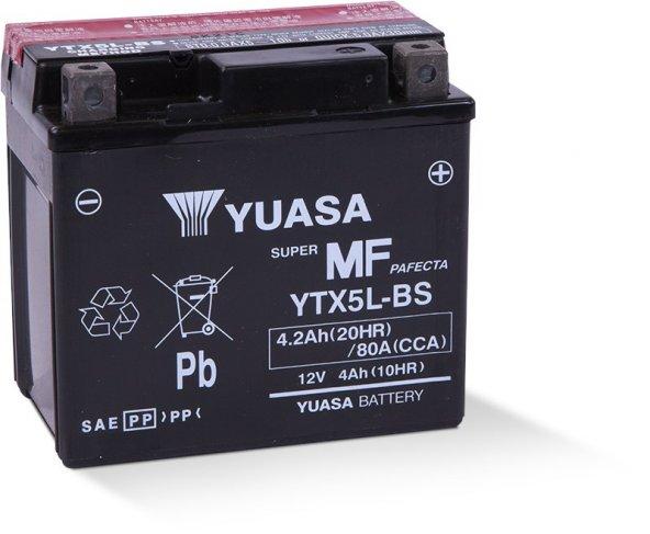 Yuasa YTX5L - BS 12v 4Ah Motosiklet Aküsü