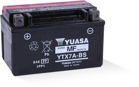 Yuasa YTX7A-BS 12v 6Ah Motosiklet Aküsü
