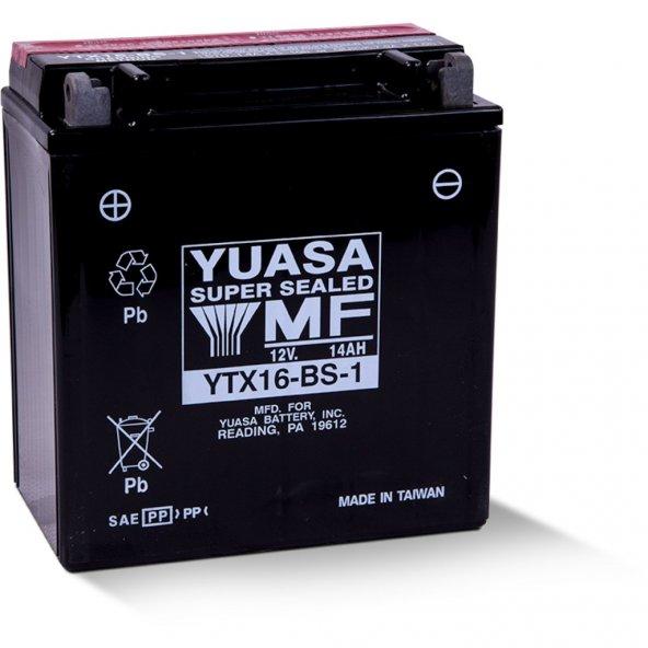 Yuasa YTX16-BS 12v 14Ah Motosiklet Aküsü
