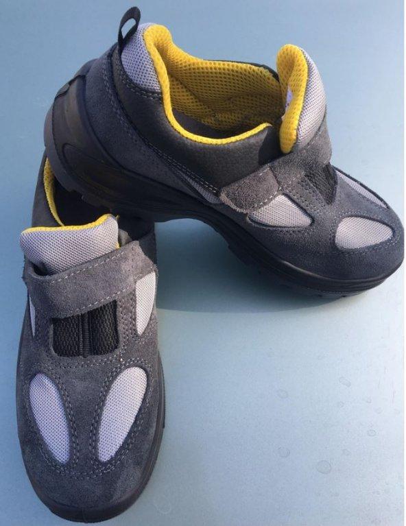 43 Numara Zimaro Z1.0 Çelik Burunlu Yazlık İş Güvenlik Ayakkabısı