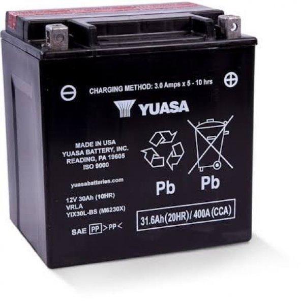 Yuasa YIX30L-BS 12V 30Ah HARLEY DAVIDSON Motosiklet Aküsü