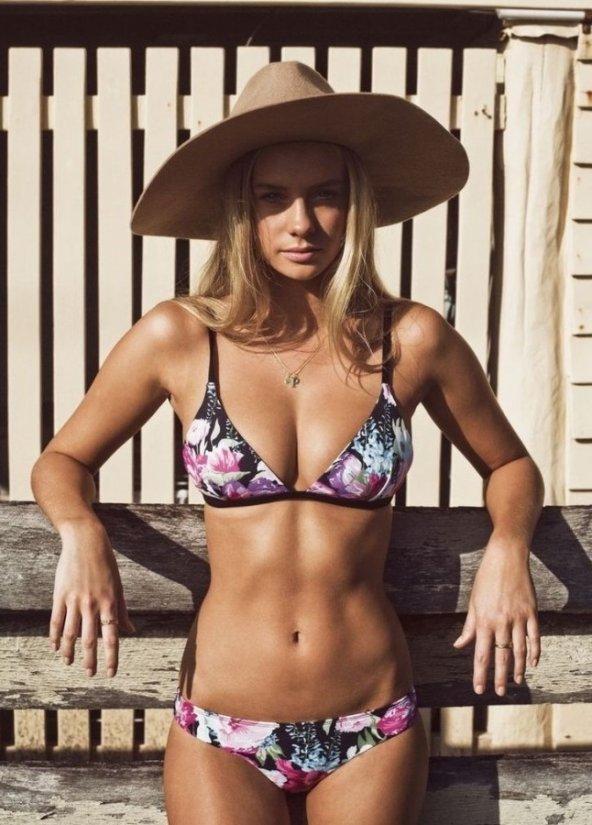 Ewa Angel Çiçek Desenli Bikini Alt
