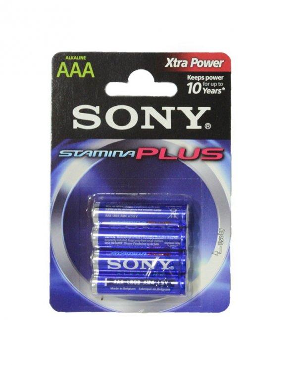 Sony Alkalin İnce Pil 4 Lü