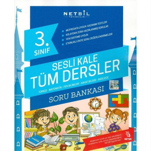 Netbil Yayın 3.Sınıf Tüm Dersler Soru Bankası