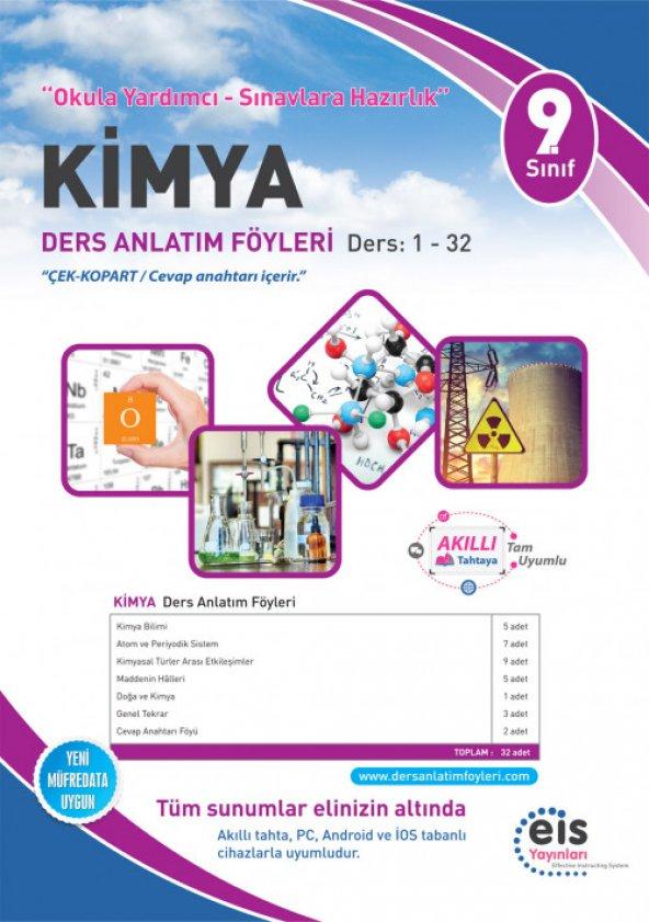 9. Sınıf Kimya DAF Ders Anlatım Föyleri 1-32 Eis Yayınları