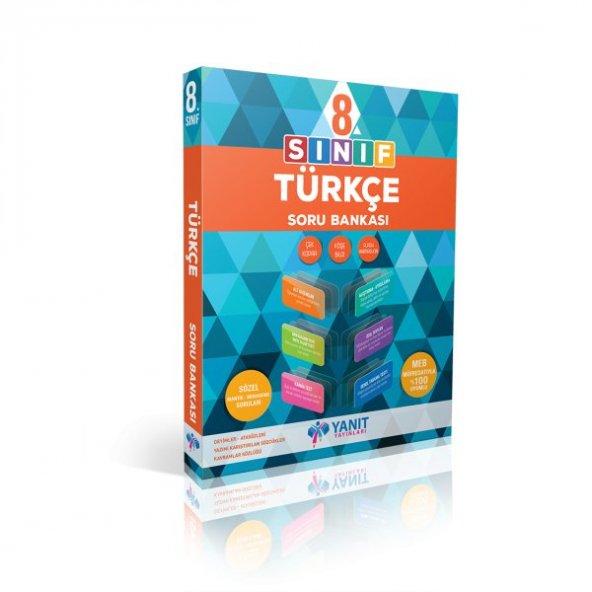 Yanıt Yayınları 8. Sınıf Türkçe Soru Bankası lgs