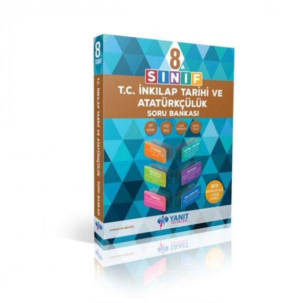 8. Sınıf T.C İnkılap Tarihi Soru Bankası - Yanıt Yayınları lgs