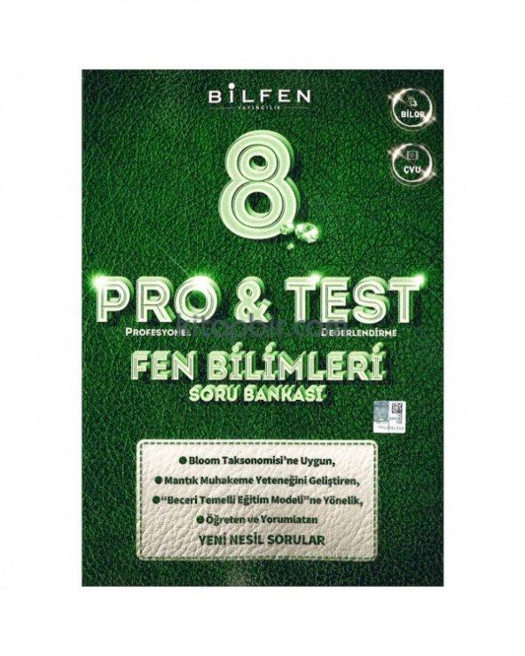 Bilfen 8. Sınıf Fen Bilimleri ProTest Soru Bankası