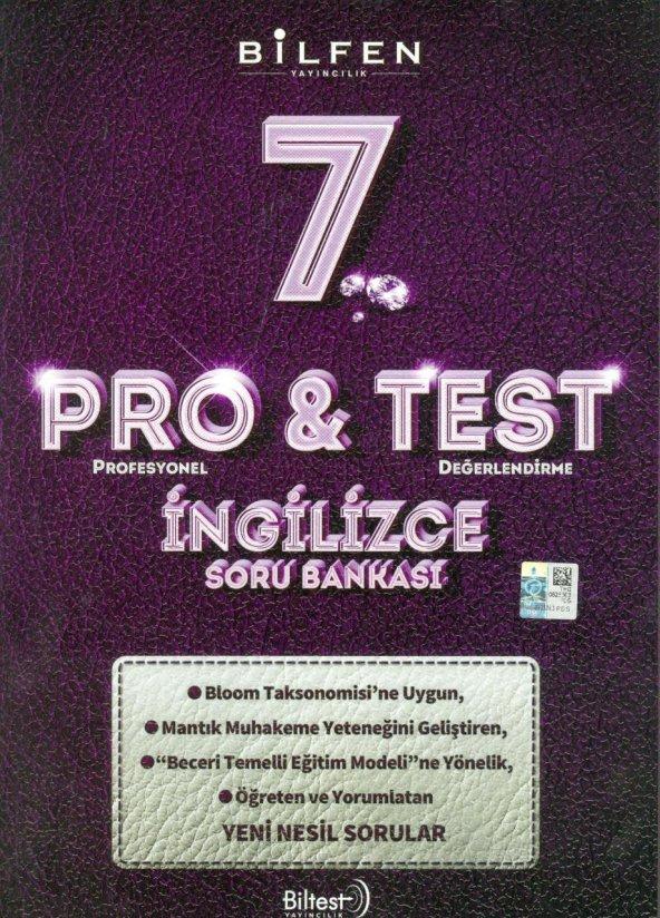 7.Sınıf İngilizce Pro & Test Soru Bankası Bilfen