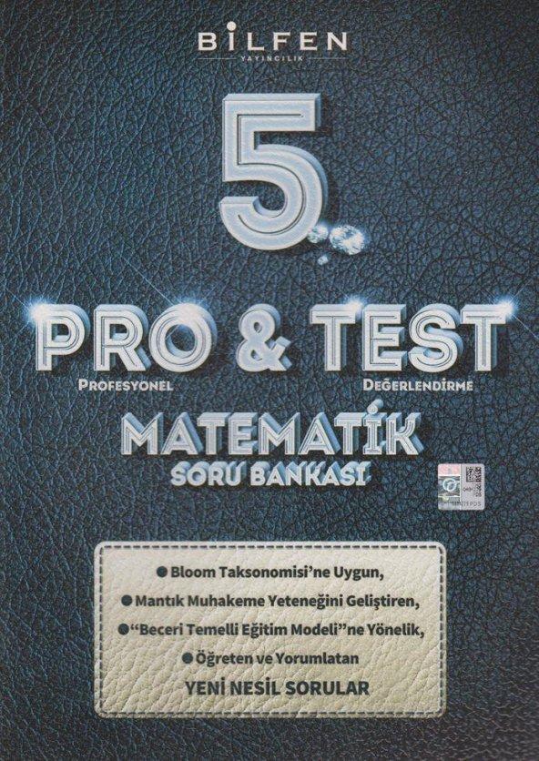 5.Sınıf Matematik Pro Test Soru Bankası Bilfen