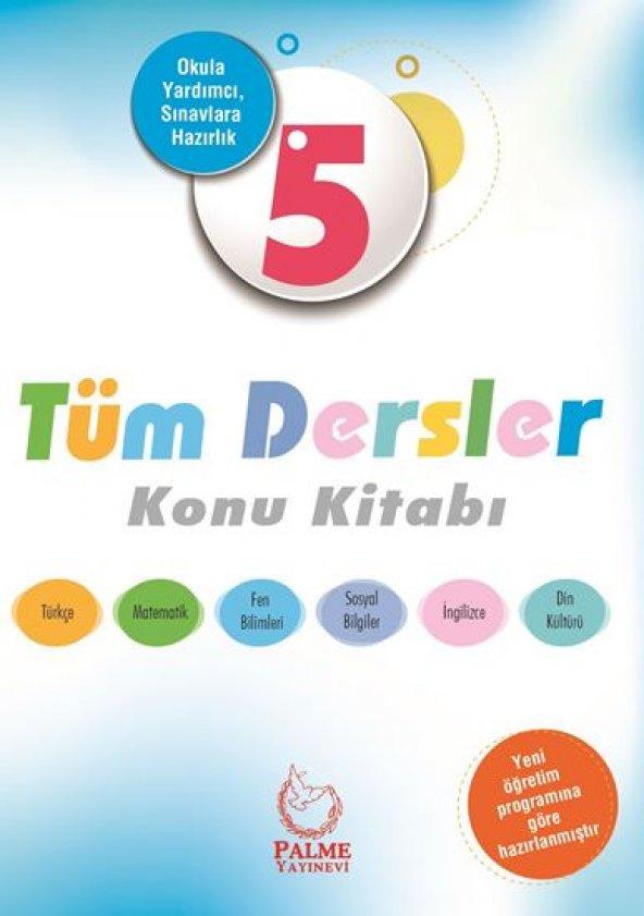 5. Sınıf Tüm Dersler Konu Kitabı Palme Yayınevi