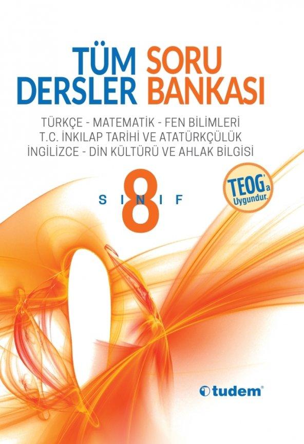 TUDEM YAYINLARI Soru Bankası Tüm Dersler 8. Sınıf
