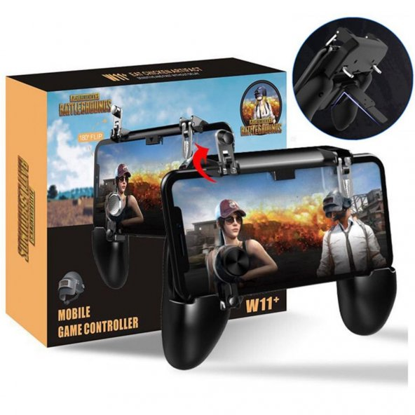 Gameped W11 Pubg Ateşleyici Tetik Joystick Controller Oyun Konsol