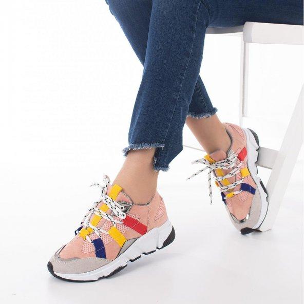 Wilda Kadın Spor Ayakkabı - Bordo