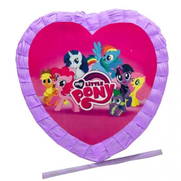 1 Adet My litte Pony Pinyata Kutusu, Poni Pinyata Sopa Hediyeli