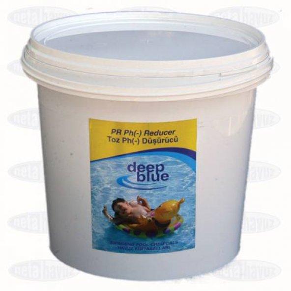 Deep Blue Ph Düşürücü Toz 10 KG