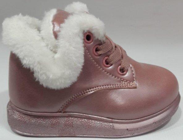 VİCCO946B19K251 Ortopedik Kışlık Kız Çocuk Bot Çİzme Pembe renk