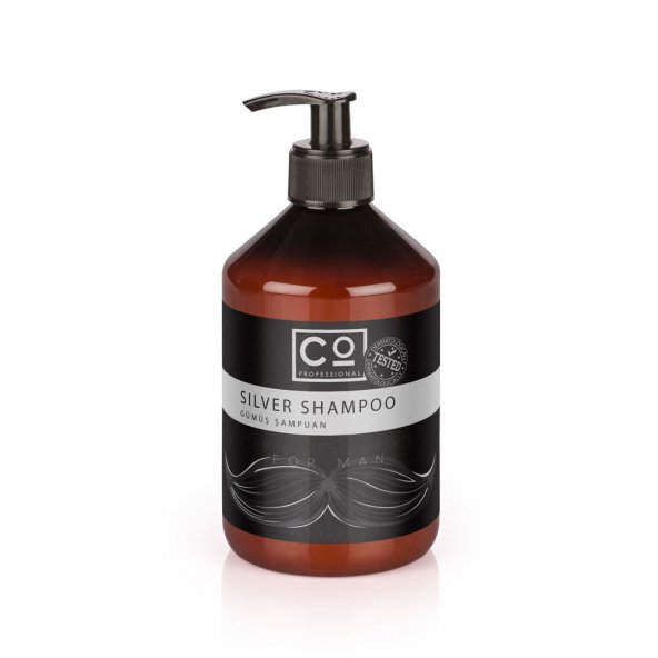 Gümüş ve Platin Saçlar İçin Şampuan 500ml* Co Professional MAN Silver Şampuan