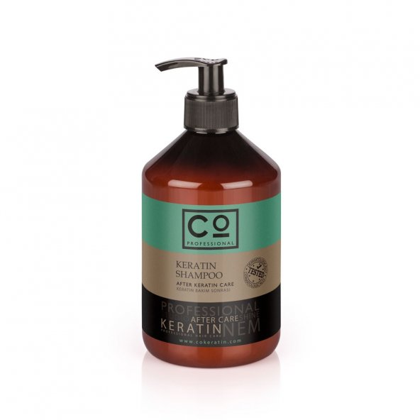 Keratin Bakım Sonrası Şampuan 500ml* Co Professional AfterKeratin Şampuan