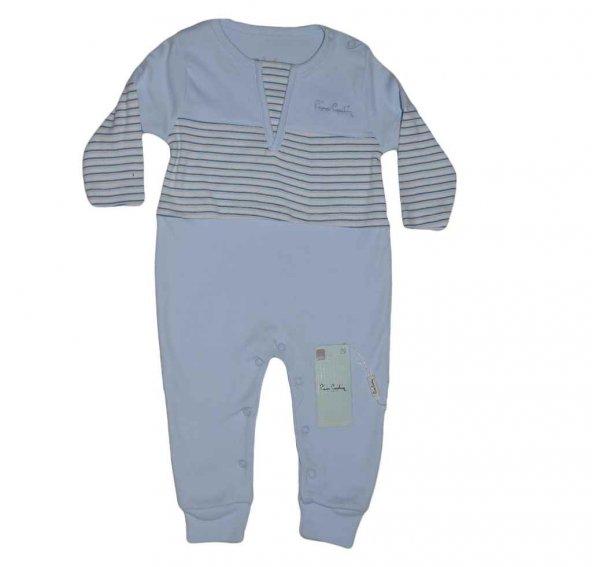 Pierre Cardin 160489 Erkek Bebek Tulum Mavi