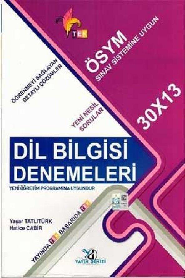 2020 TYT 30x13 TEK Serisi Dil Bilgisi Deneme Yayın Denizi Yayınları