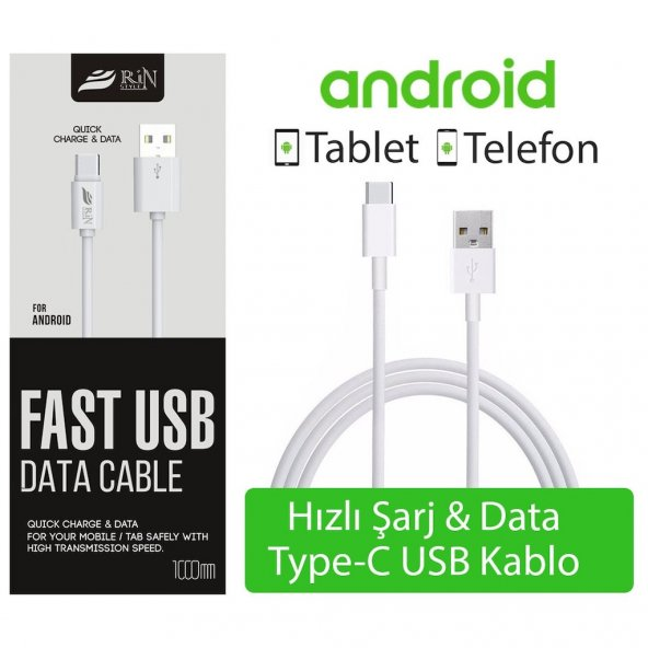 Huawei P30 Pro Type-C Usb Şarj Data Powerbank Örgü Kablo