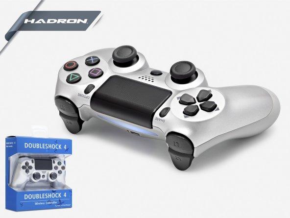 HADRON HD323/50 PS4 BLUETOOTH SILVER OYUN KOLU