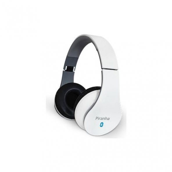 Piranha 2202 BT Kablosuz Bluetooth Beyaz Kulaklık