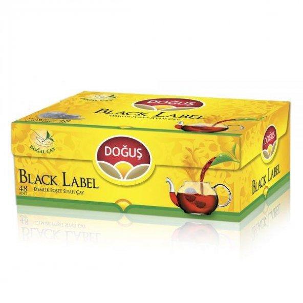 Doğuş Black Label Demlik Poşet Çay 48 x 3,2gr