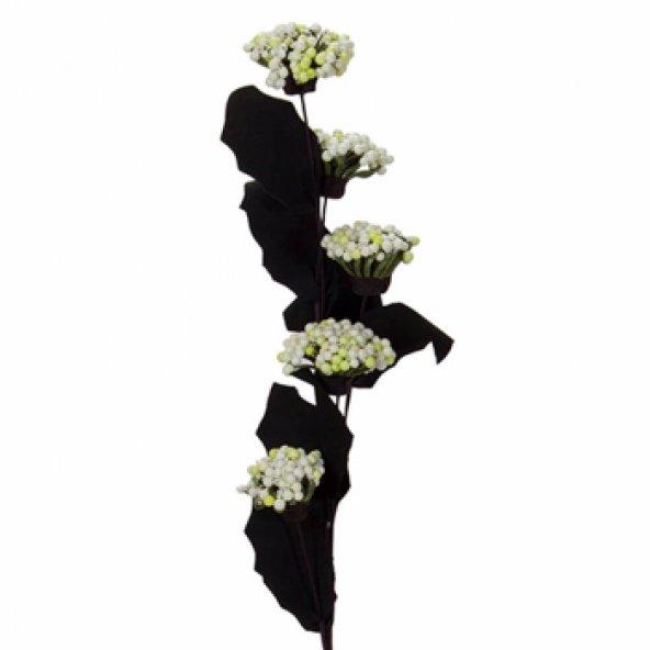 Beyaz Lateks Kartopu Yapay Çiçek