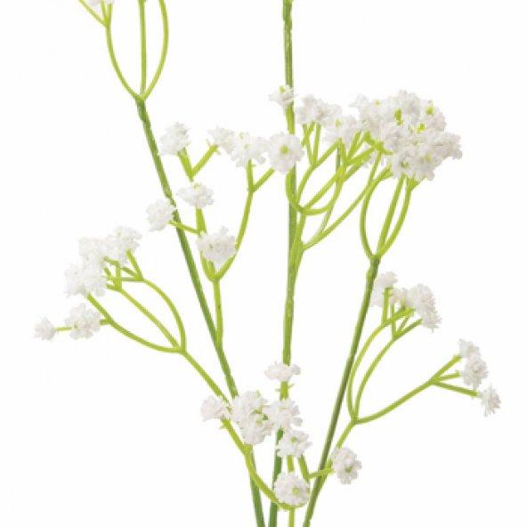 Beyaz Gypsophila Yapay Çiçek 60 cm