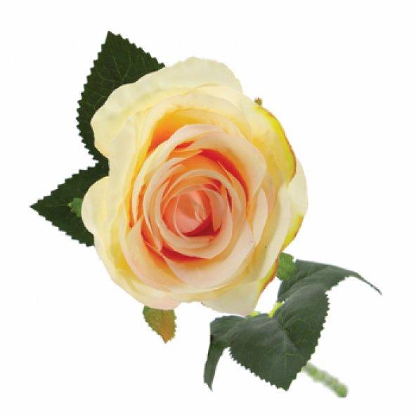 Açık Pembe Yapay Çiçek Gül 50 cm