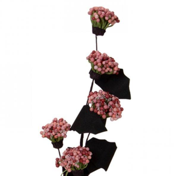 Pembe Kartopu Pıtır Demet Çiçek